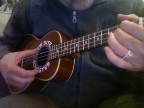 You Are My Sunshine Ukulele Chord Solo Youtube