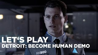 Hrej.cz Let's Play: Detroit: Become Human Demo [CZ]