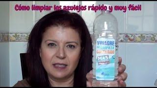 COMO LIMPIAR CRISTALES Y AZULEJOS MUY FÁCIL, MI TRUCO | HOW TO CLEAN TILES AND CRYSTALS VERY EASY