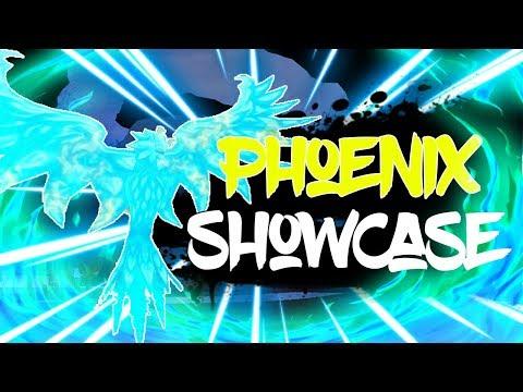 The Phoenix Brigade Roblox Full Phoenix Phoenix Fruit Showcase In Blox Piece Roblox Terrablox Youtube
