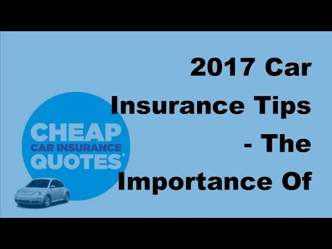 2017 Car Insurance Tips  | The Importance Of Being Properly Insured When You Travel By RV