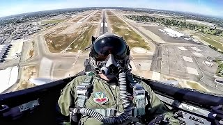 F 15 Eagle Takeoff Maneuvers Cockpit View