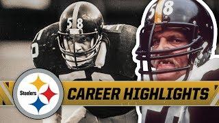 Jack Lambert's Top Plays   Pittsburgh Steelers