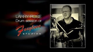 Larry Rose Drum Soundcheck - Foxglove Studios SA