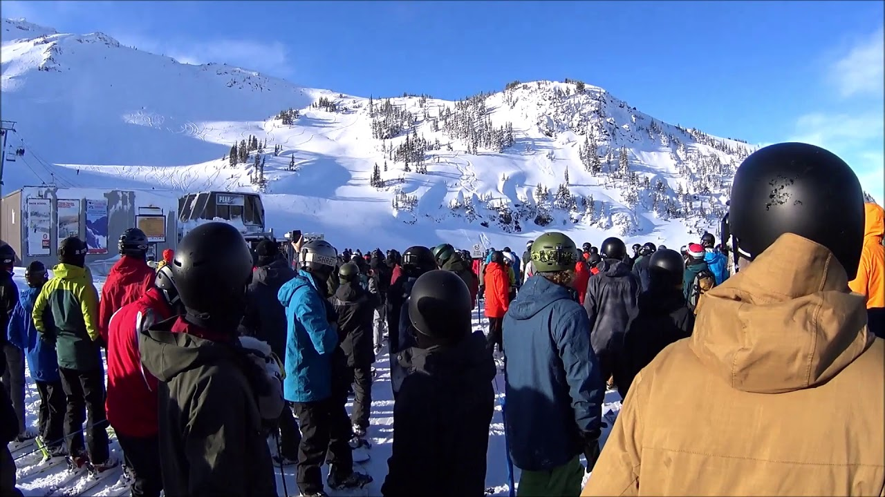 Peak Chair Line - Whistler, BC