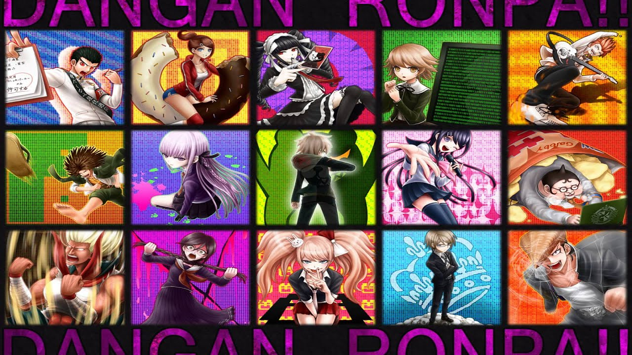 Gravity Falls Cast Wallpaper Dangan Ronpa Theme Music Youtube