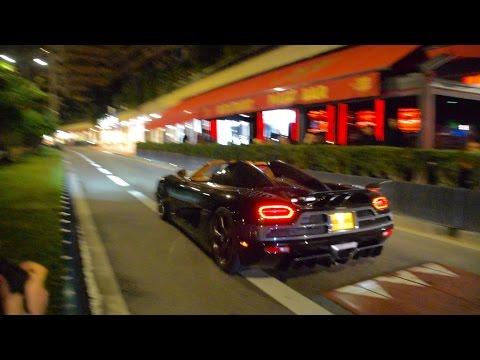 Woman in Koenigsegg Agera R goes Crazy in Monaco !!