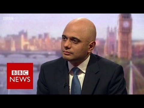 Sajid Javid on timing of UK leaving the EU - BBC News