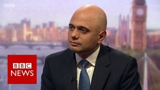 Sajid Javid on timing of UK leaving the EU - BBC News