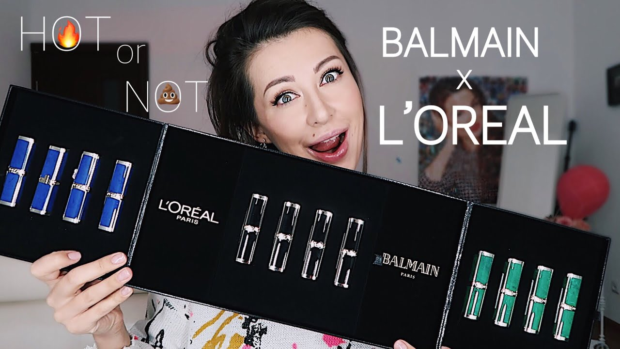 Balmain L'oreal lipstick review | Buy or Goodbye - YouTube