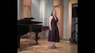 1.6.2017, Central Ostrobothnia, Finland. Anna Haaraoja performs Hay...