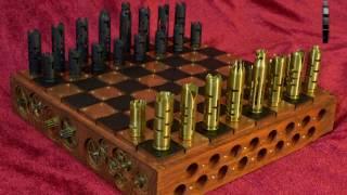 Шахматы стимпанк (steampunk chess)