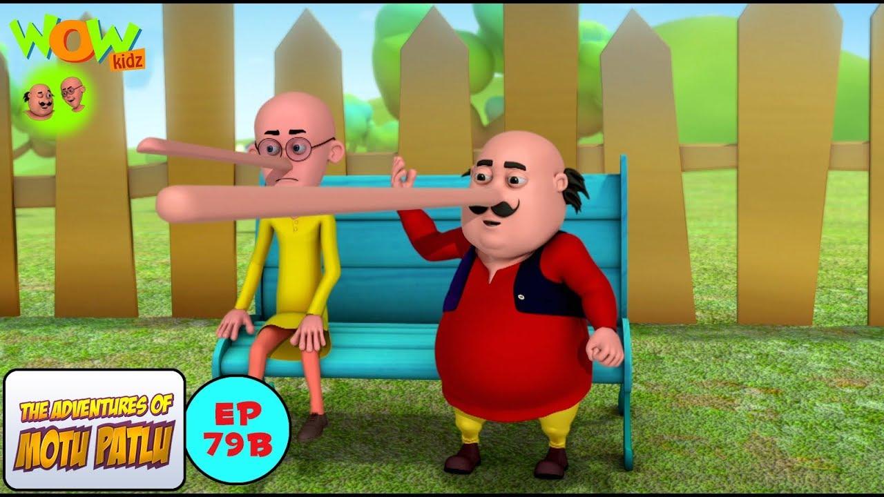 Download Motu Patlu Cartoons In Hindi |  Animated cartoon | Lambi lambi naak | Wow Kidz