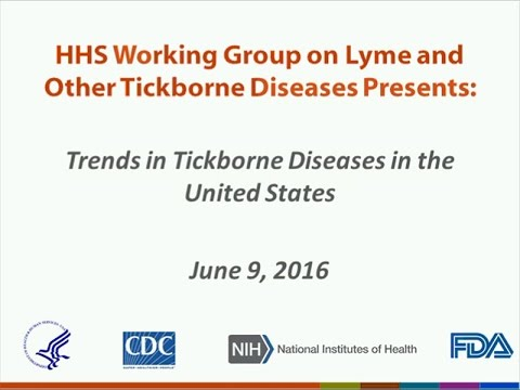 2016 HHS Joint Webinar: Trends In Tickborne Diseases