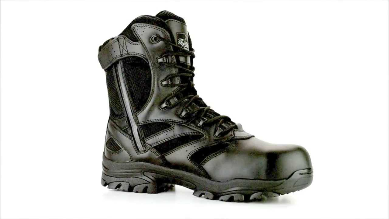 727e2a9f3e7 Men's Thorogood 804-6191 Composite Toe Waterproof Side-Zipper Work Boot