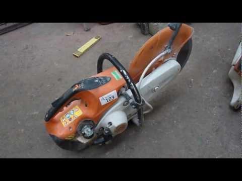Scie Tronçonneuse à Béton Stihl Ts420 Découpeuse Thermique Stihl Ts420