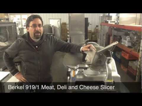Berkel 919/1 Meat Deli And Cheese Slicer From Mac's Restaurant Equipment In Franklin, KY