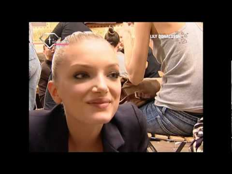 fashiontv | FTV.com - Model Talks S/S 07 Lily Donaldson