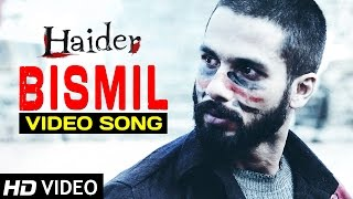 bismil haider full video song official shahid kapoor shraddha kapoor sukhwinder singh