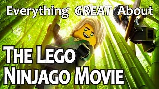 Everything GREAT About The Lego Ninjago Movie!