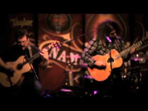 """Coheed and Cambria """"Here We Are Juggernaut"""" - NAMM 2011 with Taylor Guitars"""