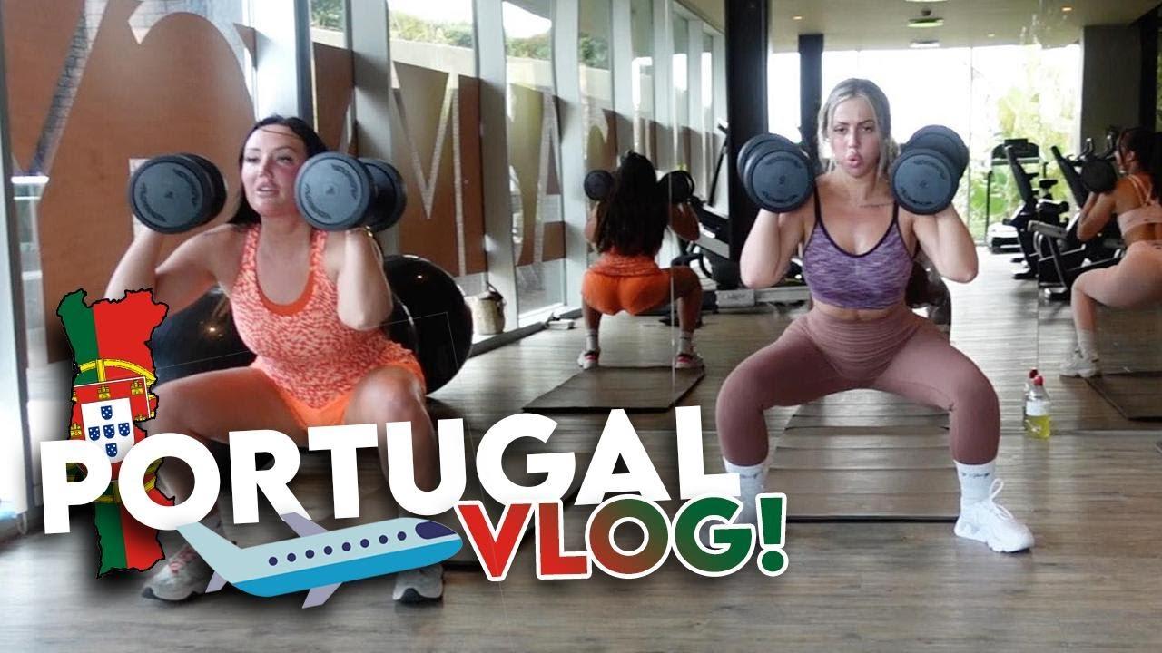 PORTUGAL BOOTCAMP VLOG | Charlotte Crosby