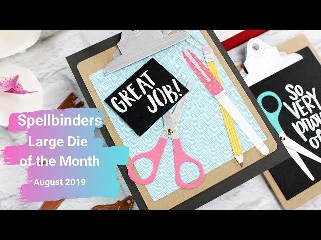 Spellbinders Die of the Month August 2019 – Mindy Eggen Design