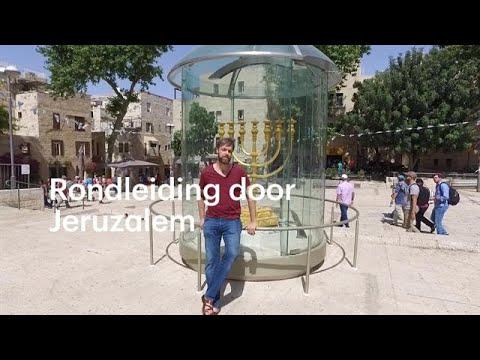 De stad die niemand begrijpt: Olaf Koens leidt je rond door Jeruzalem - RTL NIEUWS