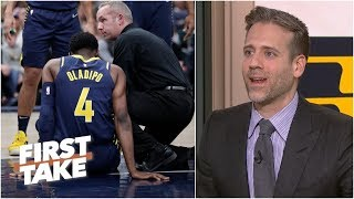 Oladipo injury could impact who makes 2019 NBA Finals - Max Kellerman | First Take