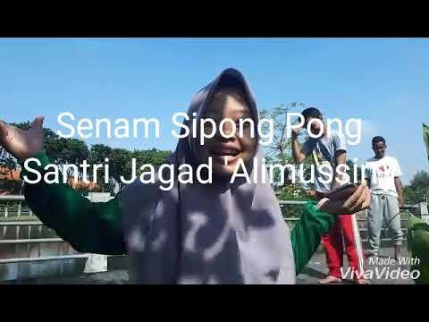 Senam Sipong Pong Kreasi Santri PP. Jagad 'Alimussirry