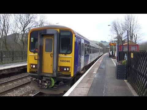 Mytholmroyd Railway Station 7/3/2018 Northern Railways