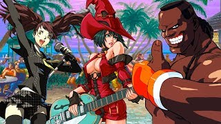 Top Ten Musical Fighting Game Characters
