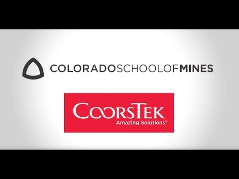 Colorado School of Mines and CoorsTek Partnership