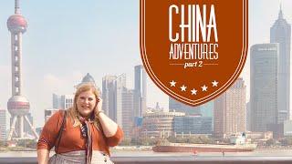 China Part 2: Noodle Dancers, Shanghai Skyline and Tea Rituals