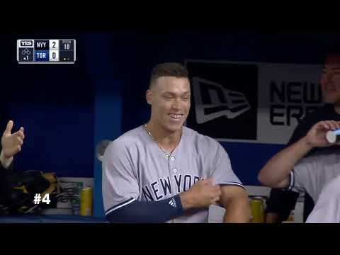 Yankees 10 Greatest Home Run Moments of 2018