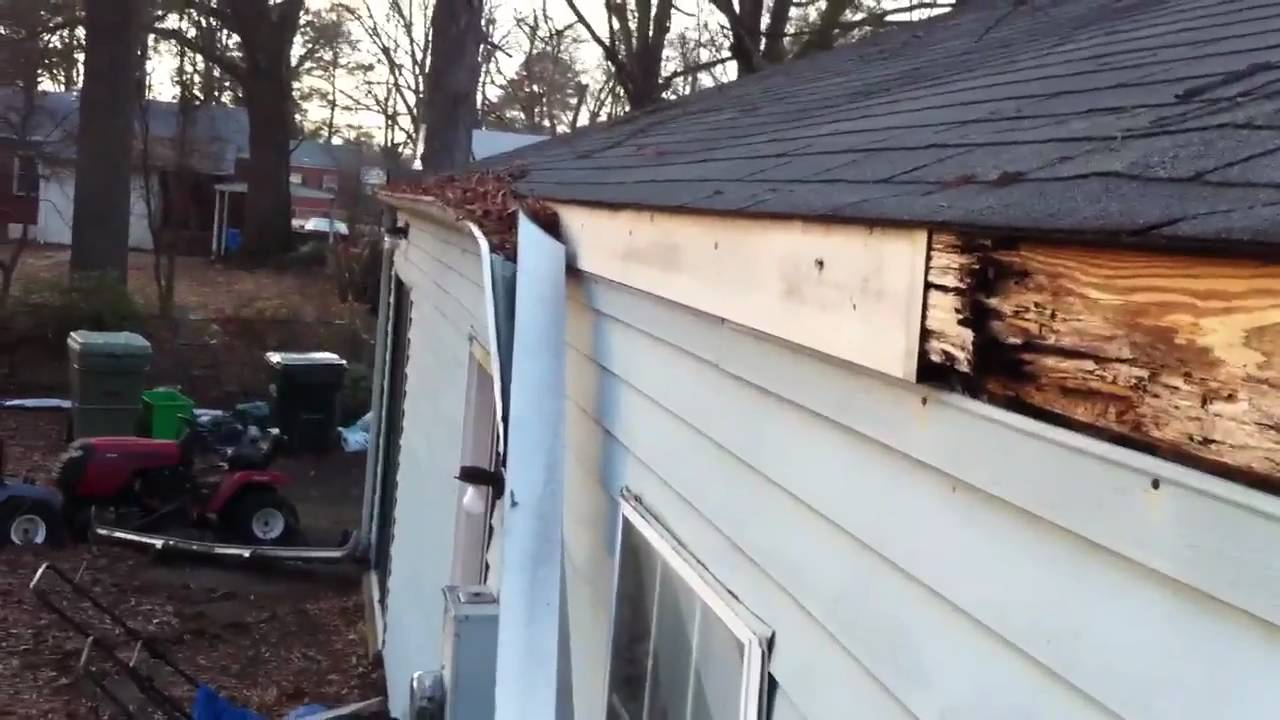 Clogged Gutters Can Cost Thousands In Damage Youtube