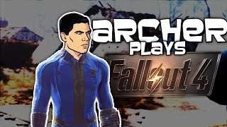 Archer Plays Fallout 4 (Voice Trolling Funny Moments)