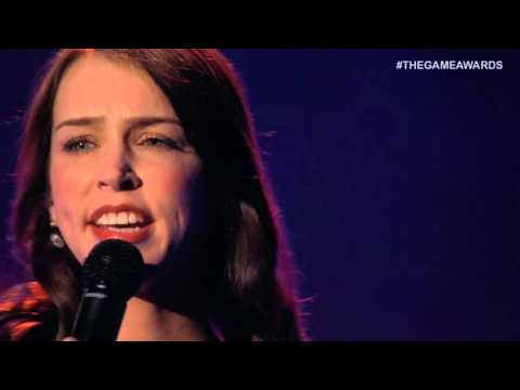The Game Awards 2015 - Stefanie Joosten w/Choir performs