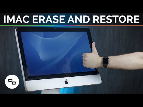 iMac Erase and Restore (Late 2009) (Not a Tutorial) - Krazy Ken's Tech Misadventures