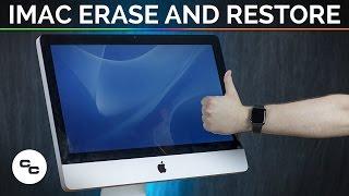 iMac Erase and Restore (Late 2009) (Not a Tutorial) - Krazy Ken's Tech Misadventures