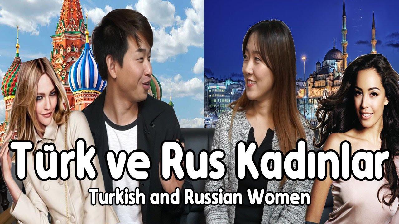 Türk Kadınlar Ve Rus Kadınlarkoreli Arkadaş Youtube