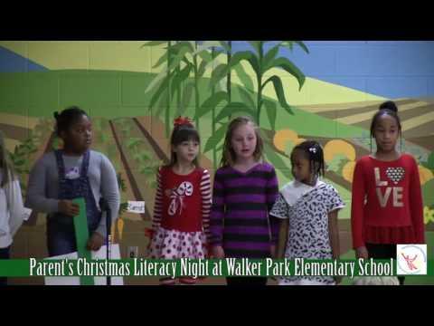 Parent's Christmas Literacy Night of Walker Park Elementary School 2016