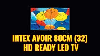 Intex Avoir 80cm HD Ready LED TV (32 inch tv)