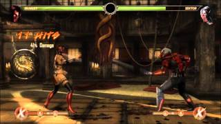 MK9-NEW SCARLET COMBOS (POST PATCH)