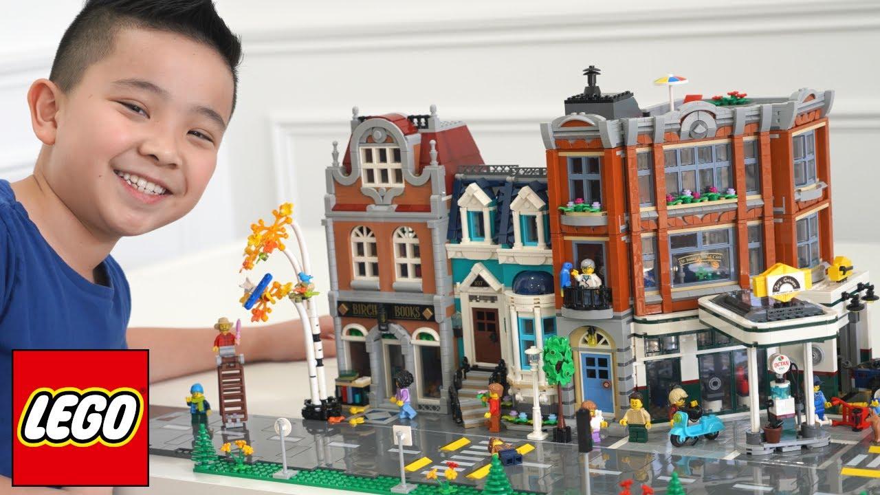 The BOOKSHOP LEGO Modular building CKN