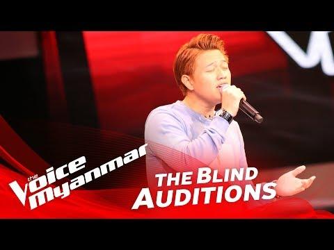 The Voice Myanmar 2018 Blind Audition - Thet Noe Wai: