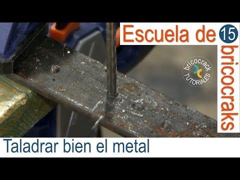 Escuela de bricolaje 15: cómo taladrar sobre metal (Bricocrack)