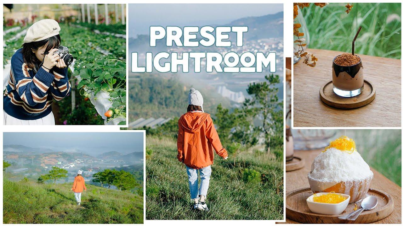 Cách sử dụng Preset Lightroom chỉnh màu trên điện thoại & TẶNG BỘ MÀU