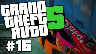 "GTA 5 PC Online #16 ""WALLRIDE OF DEATH, Viagra Talk"" (GTA V Online Funny Moments)"