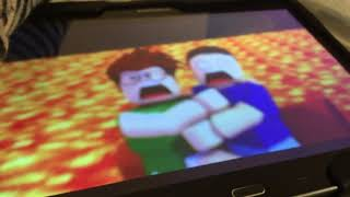 My First vid of me playing RoBlox while recording